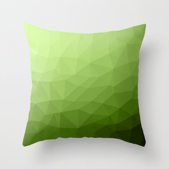 Greenery ombre gradient geometric mesh pattern by pldesign