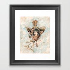Harpy Framed Art Print