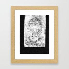 Abel Framed Art Print