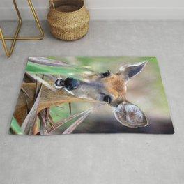 Deer Surprise Rug