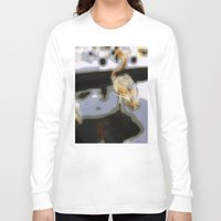 flamingo Long Sleeve T-shirts featuring flamingo by Cool-Sketch-Len