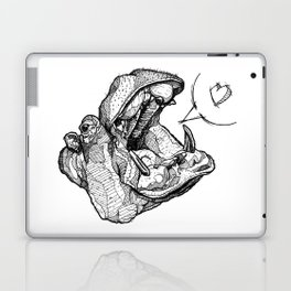 Hippos need love Laptop & iPad Skin