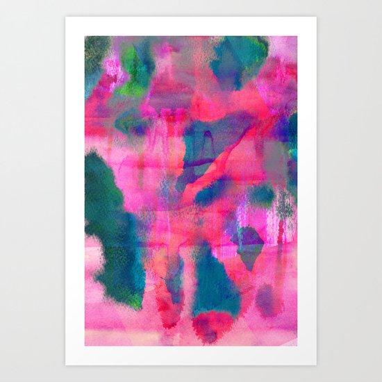 Abstract Fifteen Art Print