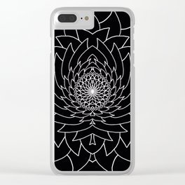 Seeded Clear iPhone Case