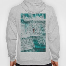 Girl Surfing Hoody