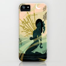 10 of Swords iPhone SE Slim Case