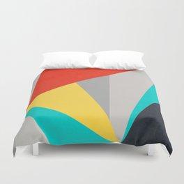 Aggressive Color Block Duvet Cover