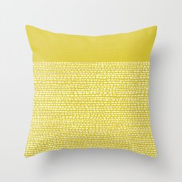 Riverside(Yellow) Throw Pillow