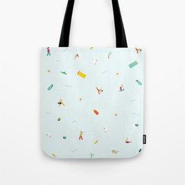Yoga People Tote Bag