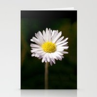 daisy Stationery Cards featuring Daisy by Lori Anne Photography