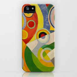 "Robert Delaunay ""Rythme, Joie de vivre"" iPhone Case"