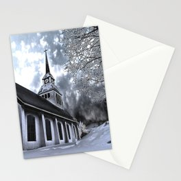 Church in Kuusamo, Finland Stationery Cards