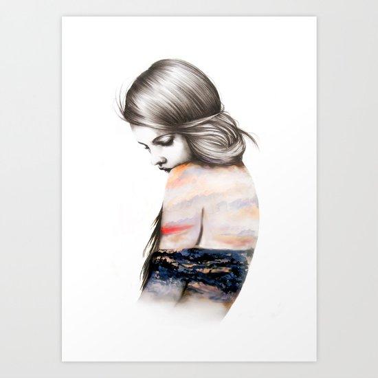 Interlude // Illustration Art Print
