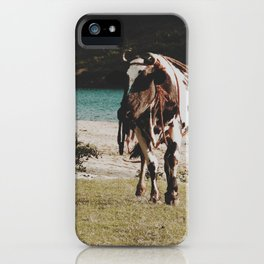 Boss cow  iPhone Case