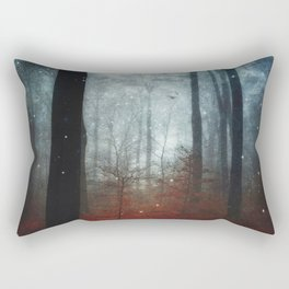 substance - dreamy autumn forest Rectangular Pillow