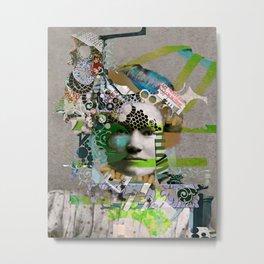 Hoodoo Heroine Metal Print