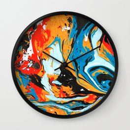 Magic Marble 1 Wall Clock