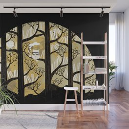 Why is an owl smart Wall Mural