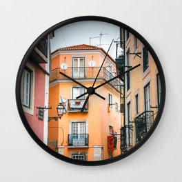 Lisbon Architecture Wall Clock