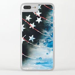 Glory Clear iPhone Case