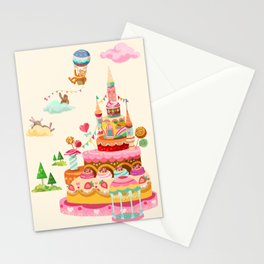 Ice Cream Castles In The Air Stationery Cards