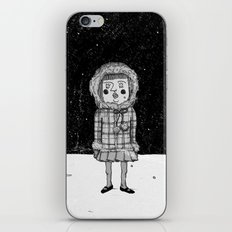 snowgirl iPhone & iPod Skin