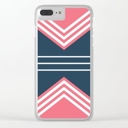 Nautical geometry 5 Clear iPhone Case