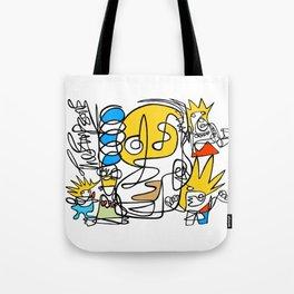 Simpsons Tote Bag