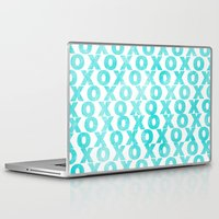 xoxo Laptop & iPad Skins featuring xoxo by Sandra Arduini
