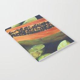 Papaya and Limes Notebook