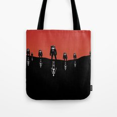 The Rust Coloured Soil: Something Strangely Familiar Tote Bag