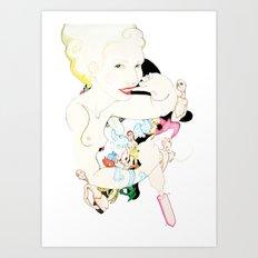 Kult Minipymer Art Print