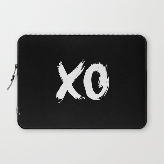 XO Hugs and Kisses white and black gift for her girlfriend xoxo bedroom art and home room wall decor by themotivatedtype