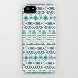 Blue Moon Tribal iPhone Case