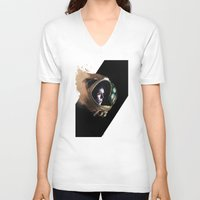 ripley V-neck T-shirts featuring Ripley by maxandr