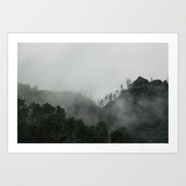 Highlands Art Print