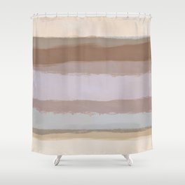Strips 4D Shower Curtain