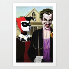 Why So American Gothic? Art Print
