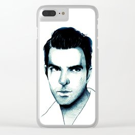 Zachary Quinto Clear iPhone Case