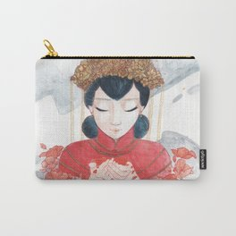 Opium Fields Carry-All Pouch
