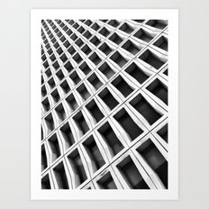 Urban Abstraction Art Print