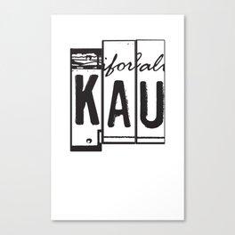 KAU Canvas Print