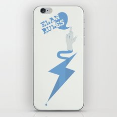Elan Rules iPhone & iPod Skin