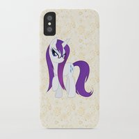 my little pony iPhone & iPod Cases featuring MY LITTLE PONY by Ylenia Pizzetti