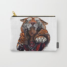 Tiger Lady Carry-All Pouch