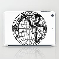globe iPad Cases featuring Globe by Gallymogger Print