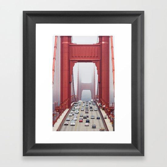 Across The Gate Framed Art Print