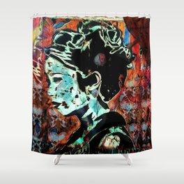 Izanami-no-Mikoto: She Who Invites Shower Curtain