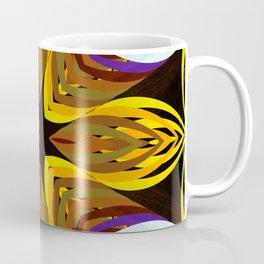 vintage style, vintage, groovy, 70´s, retro, mod, mods, geometry, 1970´s, Easy listening, elevator m Coffee Mug