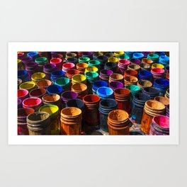 Painting color's Art Print